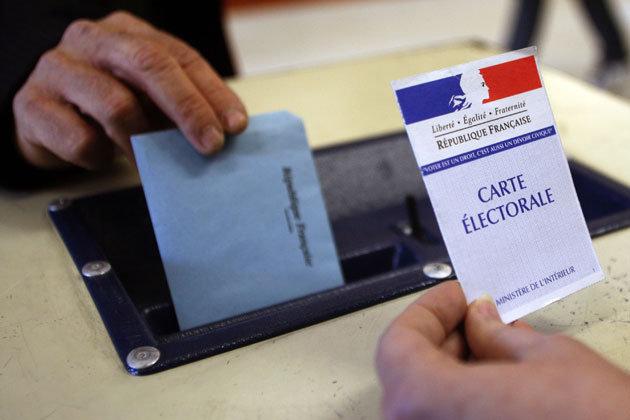 Auf der bureau de vote mainram