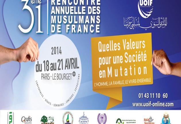 31eme rencontre annuelle des musulmans de france programme